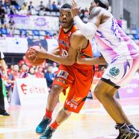 Former Iwate star Scootie Randall is Shimane's leading scorer (24.1 points per game) this season. | IWATE BIG BULLS/BJ-LEAGUE