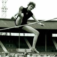 Iolanda Balas, seen competing in London in 1962, defended her Olympic high jump title at the 1964 Tokyo Games. | MARK SHEARMAN