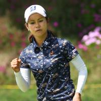 Miyazato finishes third after Kia final flourish