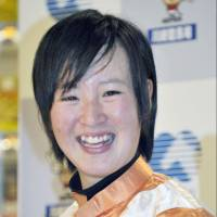 Nanako Fujita was inspired to become a jockey after watching a horse race on TV as an elementary school student. | KYODO