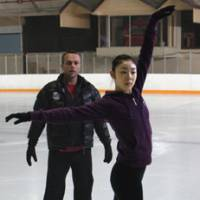 Choreographer David Wilson, seen here working with Yuna Kim in 2010, believes the star could have raised the profile of figure skating even more had she not retired at 23. | ALL THAT SPORTS