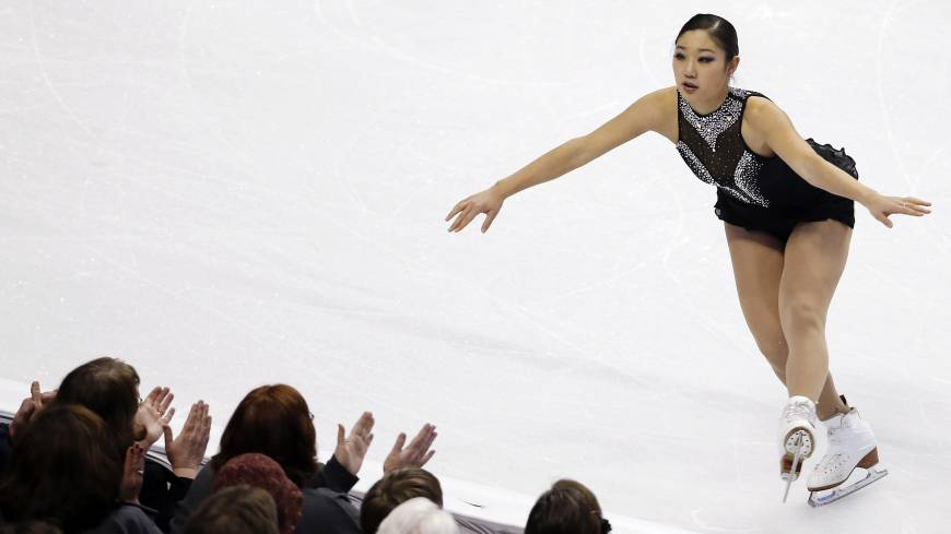 Mirai Nagasu will skate at the world championships next week in Boston after being added to the U.S. team following an injury to Polina Edmunds.   AP