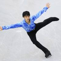 Hanyu, Miyahara go for double gold at worlds
