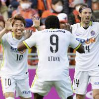 Asano helps lift Sanfrecce to first league victory