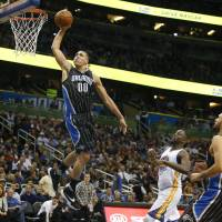 Many people believe that Orlando Magic forward Aaron Gordon, blessed with outstanding athleticism and versatility, is a future NBA All-Star. | USA TODAY / REUTERS