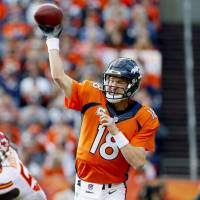 Peyton Manning retires as the NFL's all-time leader in passing yards, touchdown passes and wins. | KYODO
