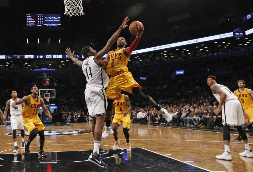 Lopez leads late charge as Nets run past Cavs