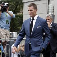 New England Patriots QB Tom Brady's four-game suspension for involvement in the Deflategate scandal may be reinstated by the 2nd U.S. Circuit Court of Appeals.   AP