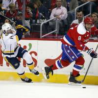 Capitals cool off Predators