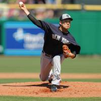 Tanaka sharp in first start of spring