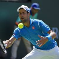 Djokovic, Azarenka claim titles in desert