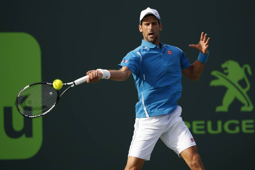 Djokovic brushes past Sousa
