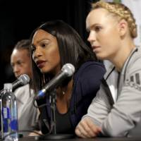 Serena says Sharapova's admission took courage