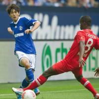 Injured Japan right back Atsuto Uchida will not feature for Schalke in the Bundesliga for the rest of this season. | KYODO