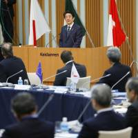 Business leaders call for fiscal action, structural reform at 'B-7 summit'