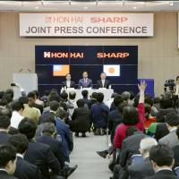 Takeover of Sharp advances Hon Hai's clean-energy ambitions