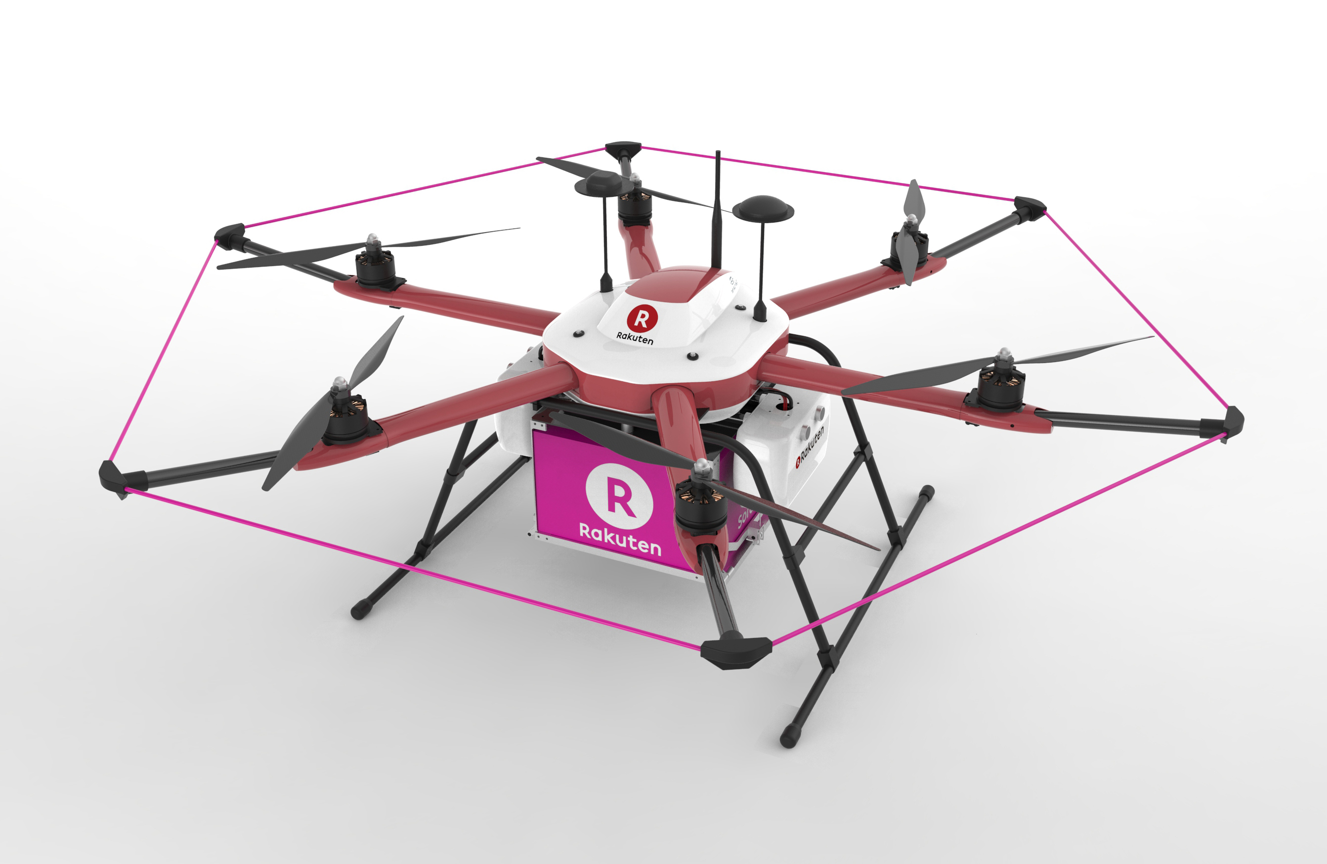 This Drone Will Be Used For Deliveries At A Golf Course In Chiba Prefecture Where