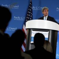 Kerry defends TPP, hints candidates playing to Americans' trade fears