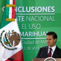 Mexican president proposes relaxing marijuana laws