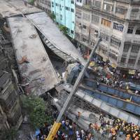 Indian rescuers say no more survivors in collapsed overpass