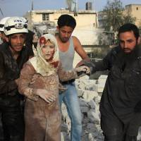 Civilians among dead as fierce fighting erupts around Aleppo, killing at least 35