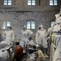Berlin monuments show history set in stone