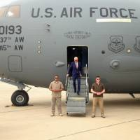 Biden drops in on Iraq amid political crisis in bid to refocus fight against Islamic State