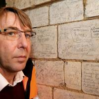 Somme battle soldiers' graffiti in cave network offer Great War insights