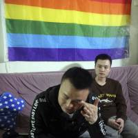 Despite court ruling, China's gay rights movement makes gains