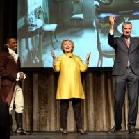Line in Clinton-de Blasio skit iks some as untimely racial gaffe