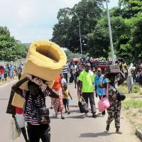 Brazzaville violence after contested polls sends thousands fleeing