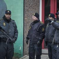 Denmark arrests four alleged Islamic State recruits and another pair on weapons offenses
