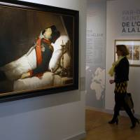 Napoleon's last home on St. Helena is re-created for Paris exhibition