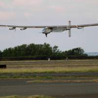 Juiced-up, solar plane departs Oahu bound for Silicon Valley in three days