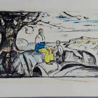 Munch lithograph stolen in 2009 recovered in Norway; pair arrested