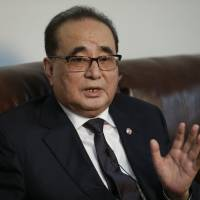 North Korean foreign minister says Pyongyang will halt nuke tests if U.S. stops South Korea drills