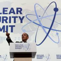 Terrorist 'madmen' must not be allowed to get nuclear material, Obama says at summit