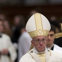After meeting on Lesbos with refugees, emotional pope recounts their suffering