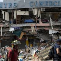Dramatic rescue amid rubble gives Ecuador hope more quake survivors will be found