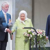 'Happy Birthday, dear Queenie' rings out as Elizabeth turns 90