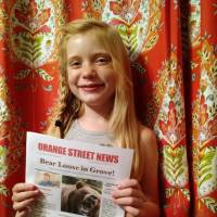 Reporter, 9, defends homicide coverage after posts tell her to go back to playing with dolls