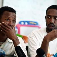 Rescued pair describe yet-unconformed migrant ship's sinking with 500  on board