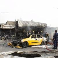 Islamic State suicide bomber kills seven in Baghdad shopping area