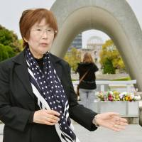 Hiroshima A-bomb survivor urges G-7 foreign ministers to help rid world of nukes