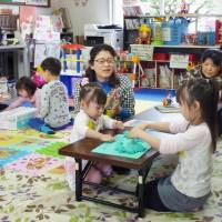 Working parents left in lurch due to damaged day care centers in quake-hit Kumamoto