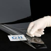 Oji Holdings Corp. has come up with a transparent sheet made of cellulose nanofiber. | OJI HOLDINGS CORP.