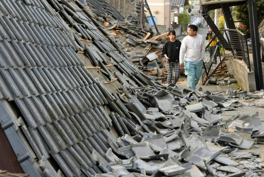 Kumamoto residents pick up the pieces following Kyushu's strongest quake