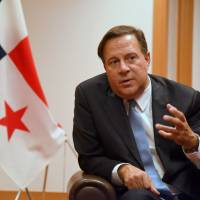 Panama's president says vilification over tax haven issue is unfair