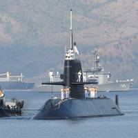 Japanese submarine, destroyers arrive in Philippines for port call near disputed South China Sea waters