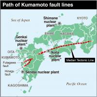 Despite assurances, quakes prompt calls to switch off Japan's nuclear reactors